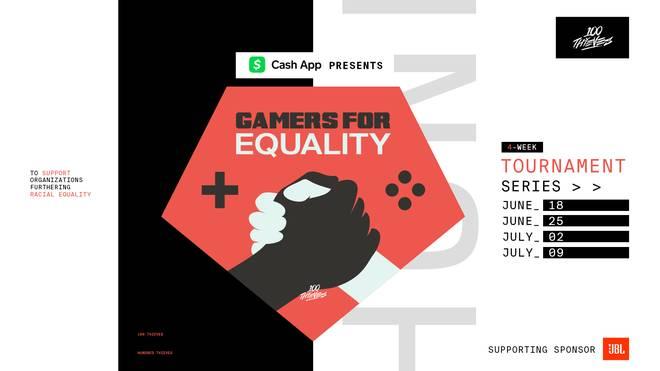 Die 100 Thieves müssen sich nach einem anderen Spiel für Gamers For Equality umsehen