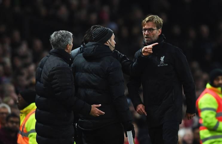 Gipfeltreffen im Old Trafford! Manchester United empfängt am Samstag den FC Liverpool zum Spitzenspiel in der Premier League (ab 13.30 Uhr im LIVETICKER) - und zum Duell der beiden Trainer-Hitzköpfe Jose Mourinho und Jürgen Klopp