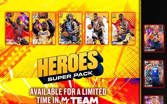 Das neue Heroes Super Pack ist bis Freitag 17 Uhr erhältlich