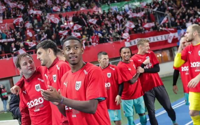 Österreich hat ein Großaufgebot von 43 Spielern für die anstehende WM-Qualifikation nominiert