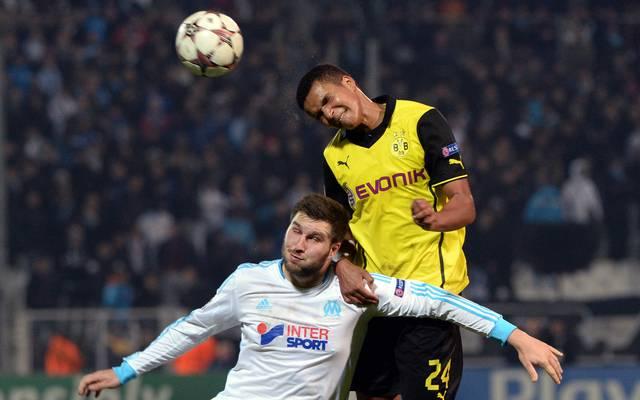 Marian Sarr in der Champions League gegen Marseille
