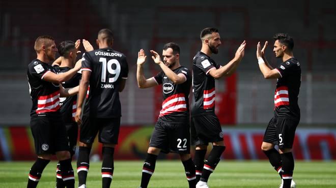Fortuna Düsseldorf möchte das große Ziel Wiederaufstieg nicht aus den Augen verlieren