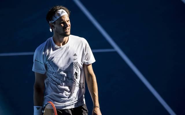 """Dominic Thiem erwischte gegen Grigor Dimitrov """"einfach einen schlechten Tag"""""""