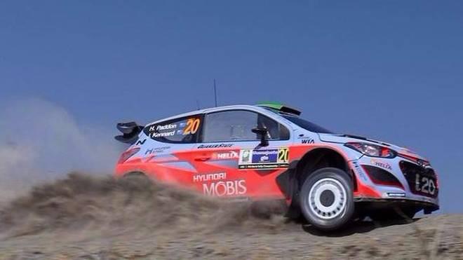 Ab der Rallye Argentinien wird auch bei Hyundai per Wippe geschaltet