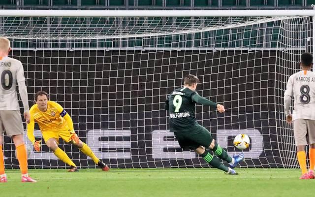 Wout Weghorst ballerte gegen Shakhtar Donezk einen Elfmeter über das Tor. Damit verpasst Deutschland Punkte in der UEFA Fünfjahreswertung