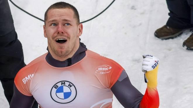 Grotheer feiert sein zweites Gold in Altenberg