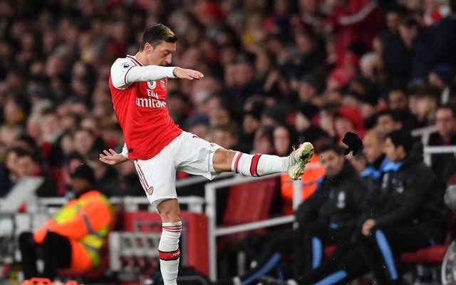 Mesut Özil vom FC Arsenal hat Ärger mit China