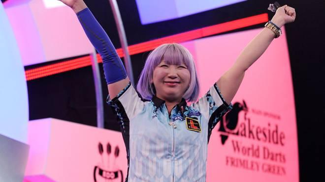 Mikuru Suzuki hat sich das Ticket für die Darts-WM gesichert