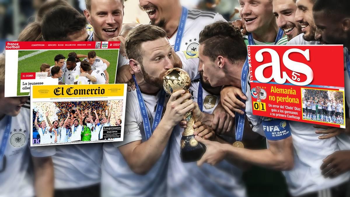 Die Welt verneigt sich vor Fußball-Deutschland