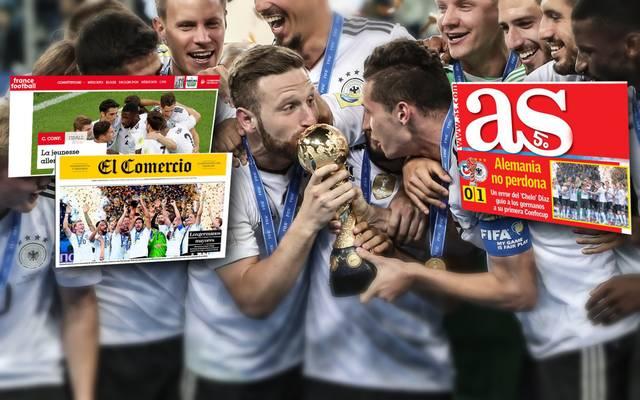 Die internationale Presse feiert den deutschen Triumph beim FIFA Confederations Cup
