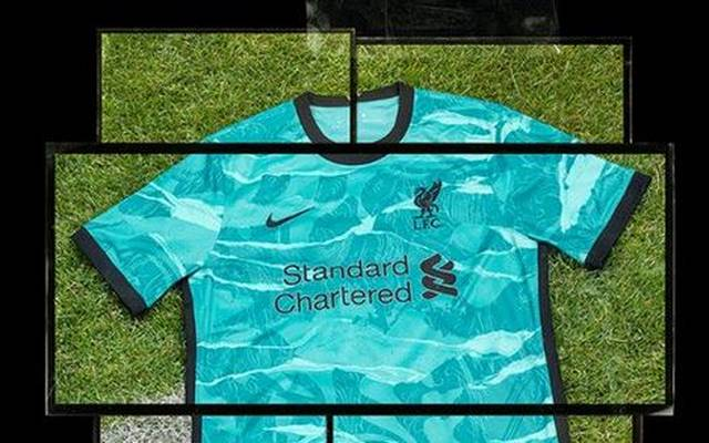 Das neue Auswärts-Trikot des FC Liverpool