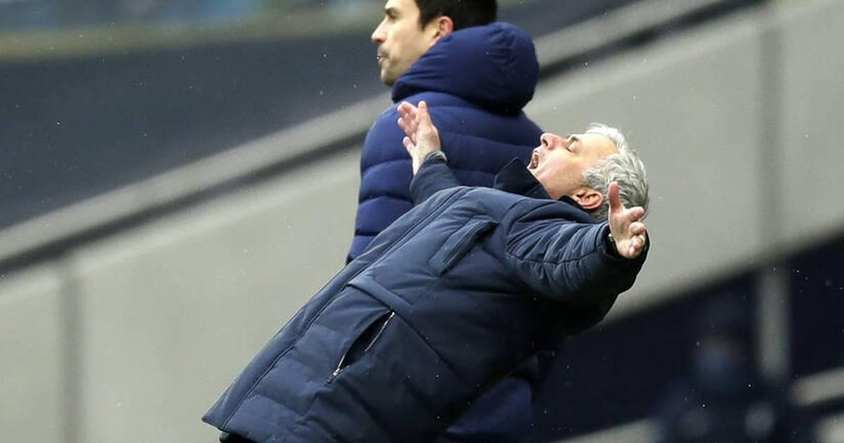 Premier League: Tottenham Hotspur und Trainer José Mourinho in der Krise - SPORT1