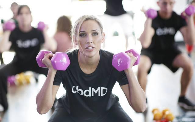 US-Star Lolo Jones beim Training