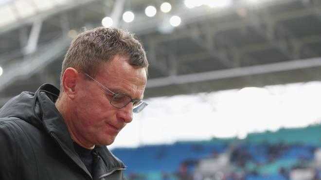 Ralf Rangnick ist noch bis Saisonende Trainer bei RB Leipzig