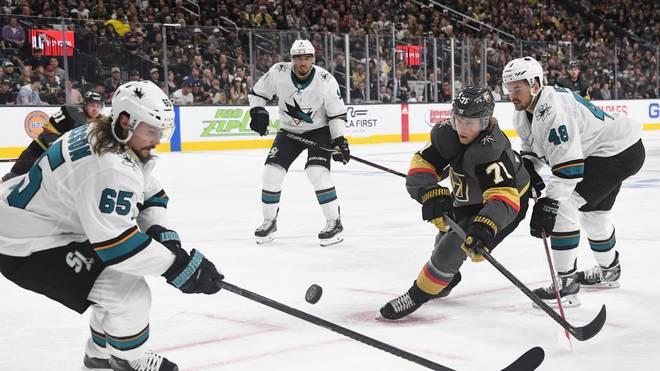 Die San Jose Sharks (in weiß) haben in den NHL-Playoffs ein siebtes Spiel erzwungen