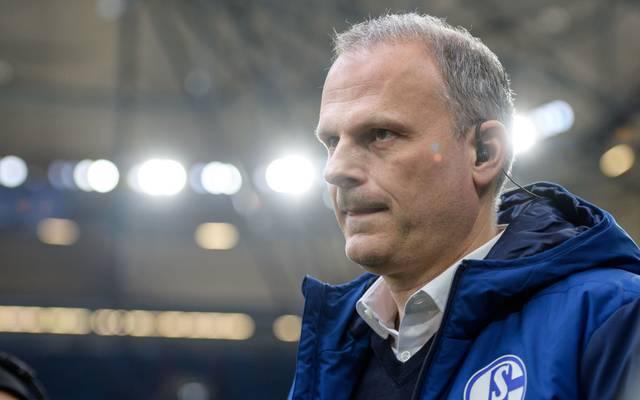Jochen Schneider hat sich zur aktuellen Situation bei Schalke 04 geäußert