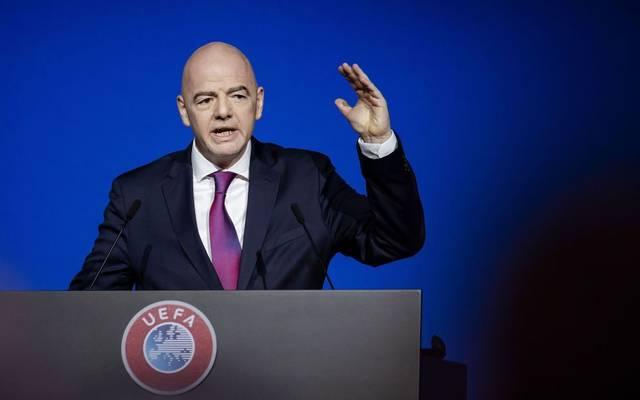 Im Zwielicht: FIFA-Präsident Gianni Infantino