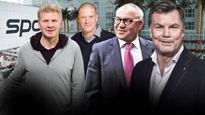 Am Sonntag im Doppelpass bei Moderator Thomas Helmer zu Gast: Christian Ziege, Felix Magath und SPORT1-Experte Stefan Effenberg