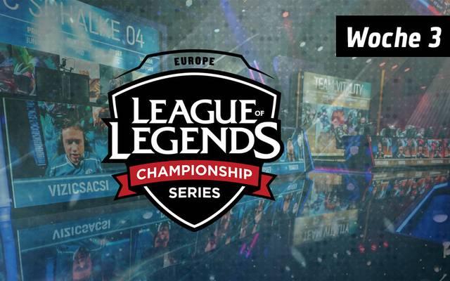 SPORT1 präsentiert die spannendsten Ereignisse des dritten Spieltags der EU LCS.