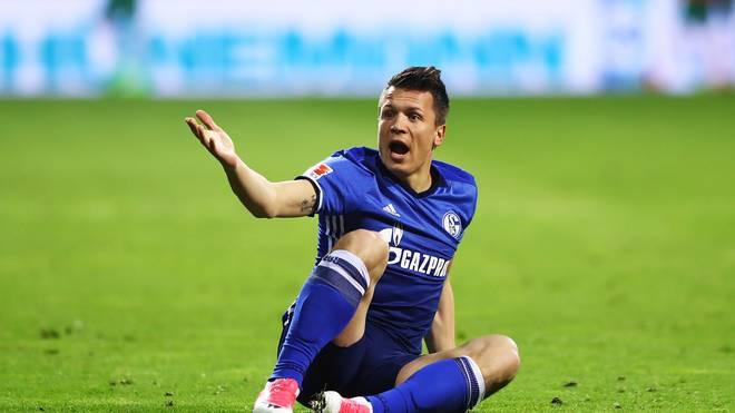 Jewgeni Konopljanka hat sich mit Schalkes Trainer Weinzierl angelegt
