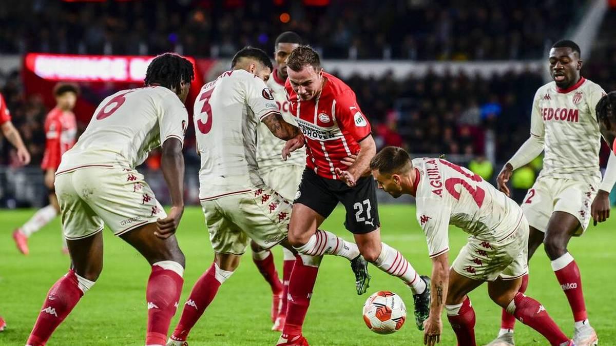 Götzes PSV Eindhoven verzweifelt an Nübel