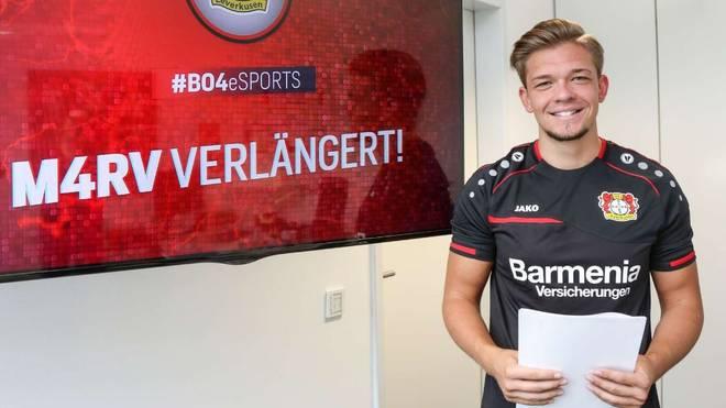 Marvin Hintz verlängert bei Bayer Leverkusen bis 2019
