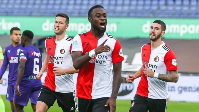 Feyenoord Rotterdam ist in der Eredivisie seit einem Jahr ungeschlagen