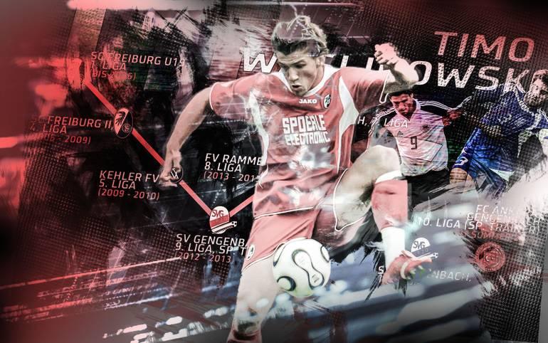 Mit zwölf Jahren zum SC Freiburg, mit 14 in der Junioren-Nationalmannschaft, mit 17 nur noch einen Schritt vom Profifußball entfernt: Timo Waslikowski war einer der besten deutschen Nachwuchsstürmer, heute spielt er in der Kreisliga. SPORT1 zeigt seine bewegte Karriere
