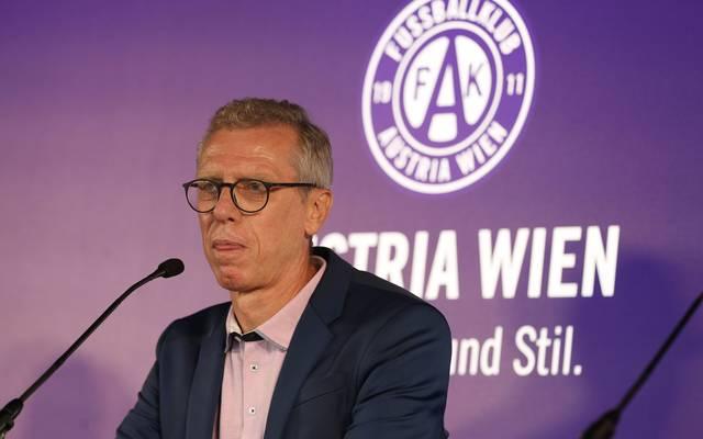 Bei der Austria Wien gibt es einen Corona-Fall
