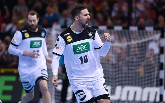 HANDBALL-WC-2019-GER-NOR Fabian Wiede ist der erste deutsche All-Star einer WM seit 2007. Damals wurden Henning Fritz und Michael Kraus mit der Wahl geehert
