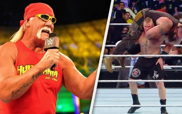 Hulk Hogan ist zurück bei WWE, Brock Lesnar ist neuer Universal Champion
