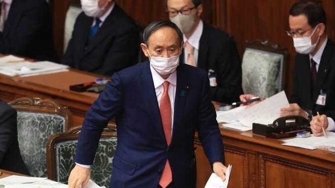 Yoshihide Suga denkt nicht an eine Absage von Olympia