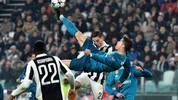 Mit diesem Fallrückzieher schoss sich Cristiano Ronaldo in die Herzen der Juve-Fans