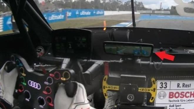 Bei den Audi-Piloten funktionierte der Monitor der Rückfahrkamera