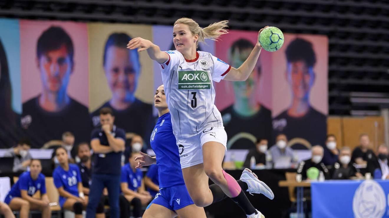 Die Handballerinnen des DHB sind gut in die EM-Quali gestartet