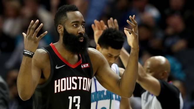 Die japanischen Fans dürfen sich auf Rockets-Star James Harden freuen