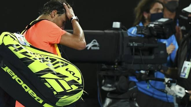 Nadal bei seinem bislang letzten Match vor drei Wochen