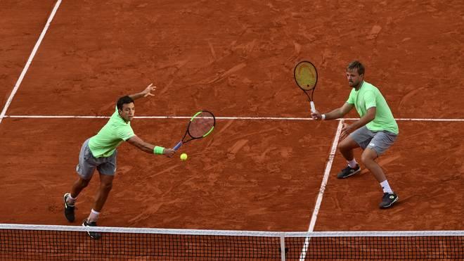 TENNIS-FRA-OPEN-MEN-DOUBLE-FINAL