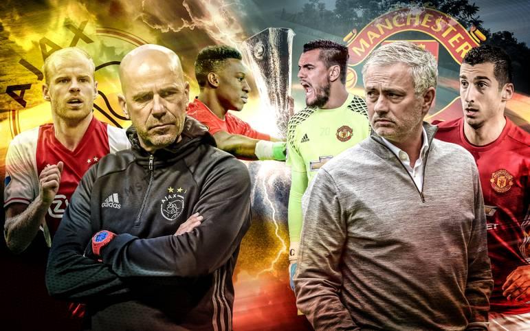 Manchester United geht als Favorit ins Endspiel der Europa League gegen Ajax Amsterdam (Berichterstattung ab 19 Uhr im TV auf SPORT1). SPORT1 bewertet die Schlüsselduelle.