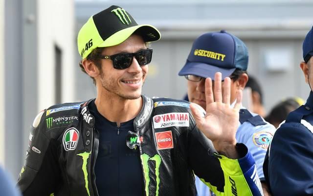Valentino Rossi darf beim virtuellen GP natürlich nicht fehlen