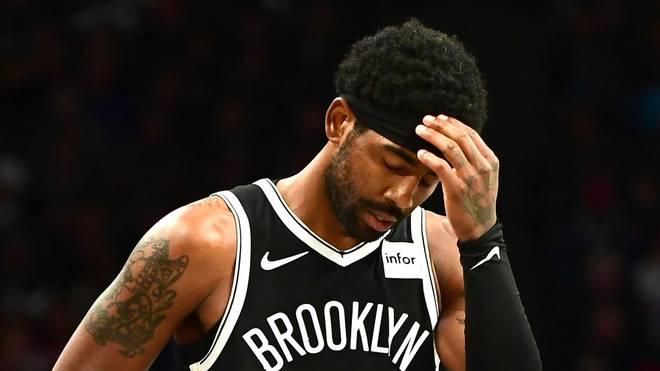 Auch Kyrie Irving konnte die Niederlage der Brooklyn Nets gegen die Minnesota Timberwolves nicht verhindern