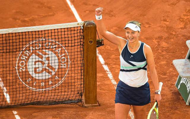 Barbora Krejcikova steht im Finale der French Open