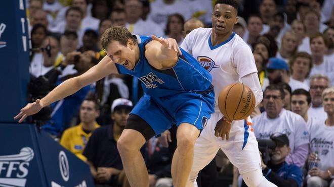 Dirk Nowitzki braucht mit den Mavericks gegen Westbrooks Thunder einen Sieg