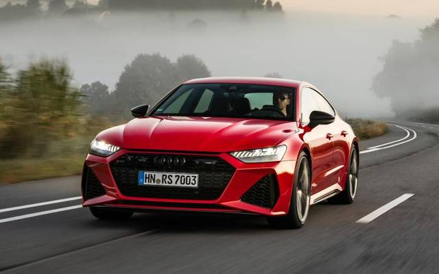 Der Audi RS7 Sportback kann mit zusätzlichen Dynamikpaketen bis zu 305 km/h schnell werden