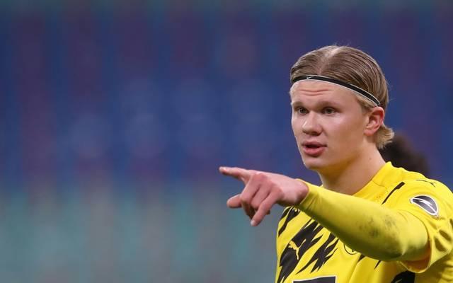 Erling Haaland führte den BVB im Hinspiel zum Sieg
