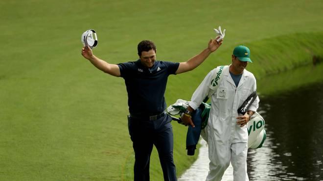 Golf-Profi Jon Rahm gelang im Vorfeld des US Masters in Augusta Einmaliges