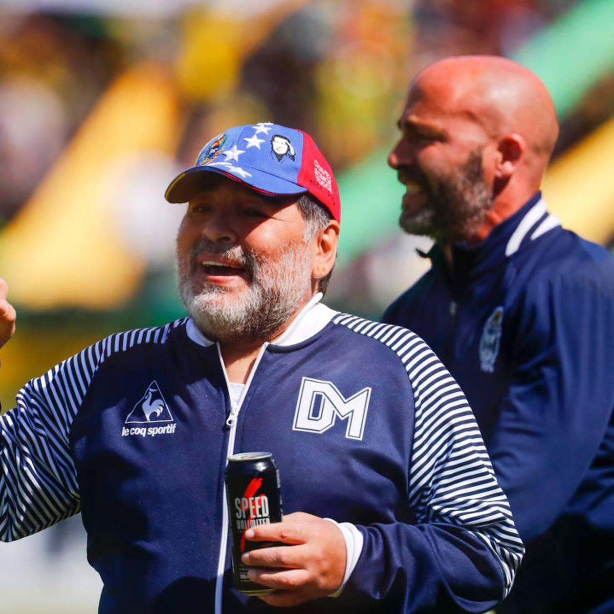 Maradona tritt bei La Plata zurück