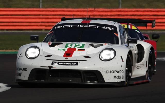 Fuhr Platz drei für das Kundenteam GPX Racing ein: Michael Christensen