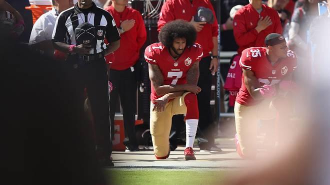 Colin Kaepernick hat seit seinen Protesten keinen Job mehr in der NFL bekommen
