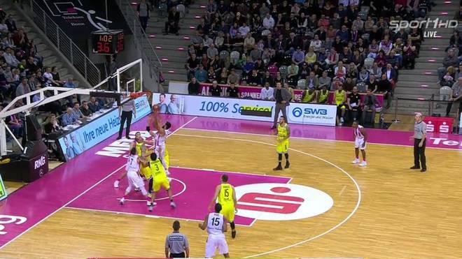 BBL: Telekom Baskets Bonn besiegen medi Bayreuth knapp